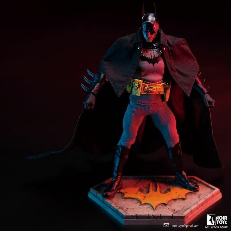 schwarzSpielzeugz 3901dx 1 12 Heroes 19th Century Dark Knight Mini Figure Spielzeug Regular ver