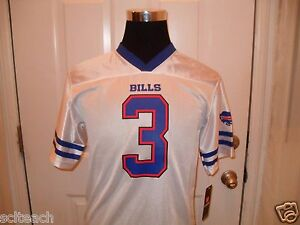Brand New with Tags Buffalo Bills E.J. Manuel  3 White Youth Mesh ... 37d7b418d