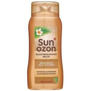 Selbstbräunungsmilch Sun Ozon Selbstbräuner Selbstbräunung 200 ml NEU NEWW