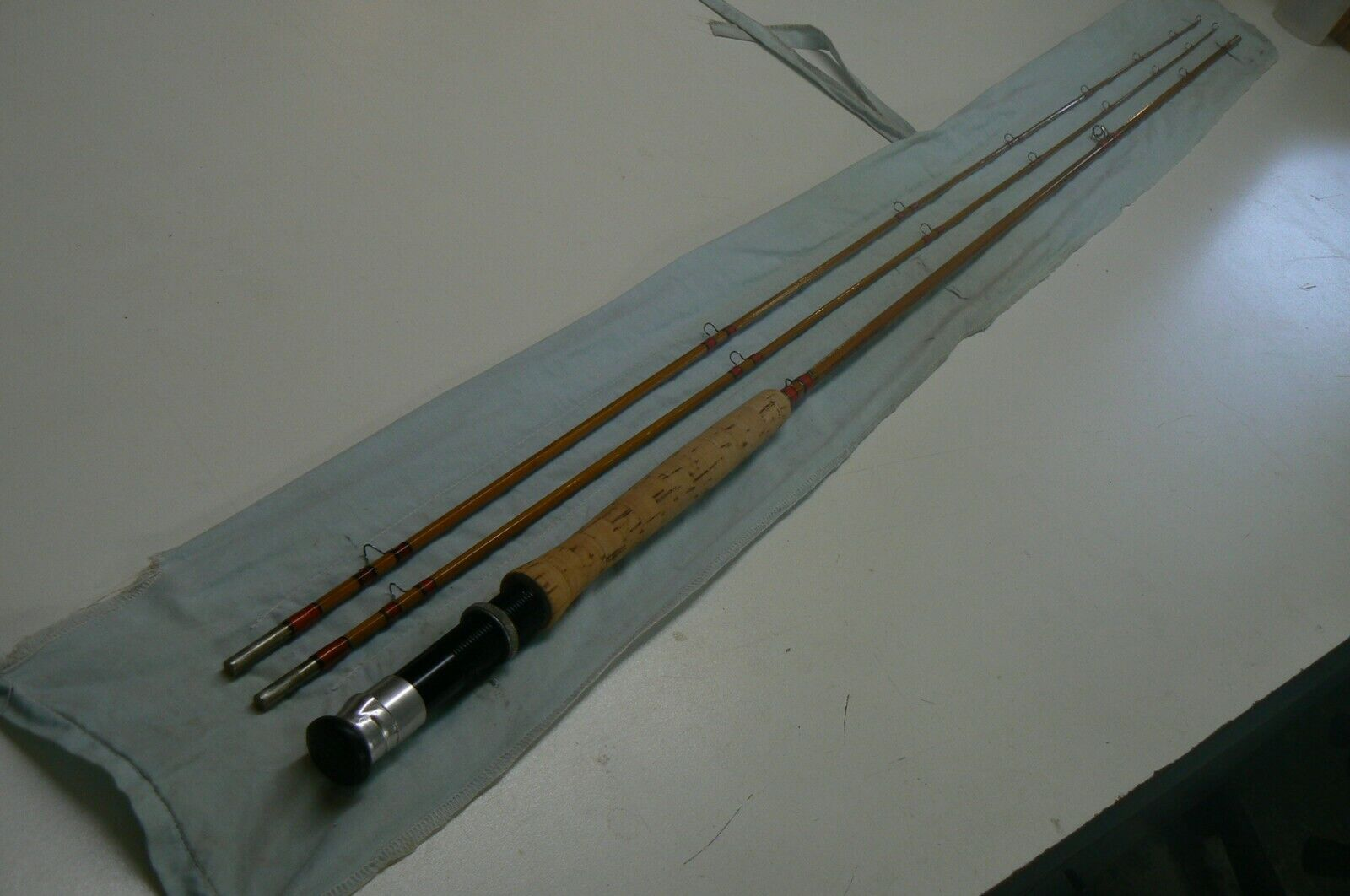 Herters Bamboo Fly Rod  8'2 2  4 5wt.  Made in England