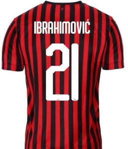 AC-Milan-Jersey-19-20-IBRAHIMOVIC-Home-Away-or-Third-All-Sizes
