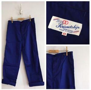 Vintage-Deadstock-Cotton-Chore-Workwear-Trousers-Pants-W33-34-M