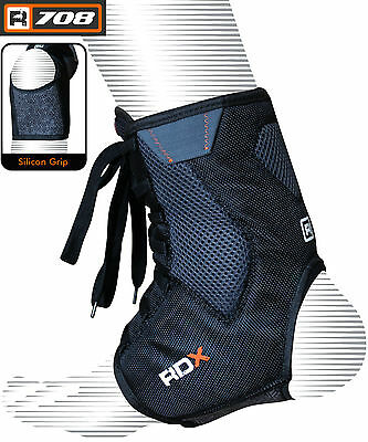 RDX Ankle Lace Up Support Brace Guard Injury Pain Stabilizer Achilles Tendon Pad