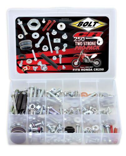 Bolt Pro-Pack Kit Viti Adatto per Honda Cr 250 Due Stroke
