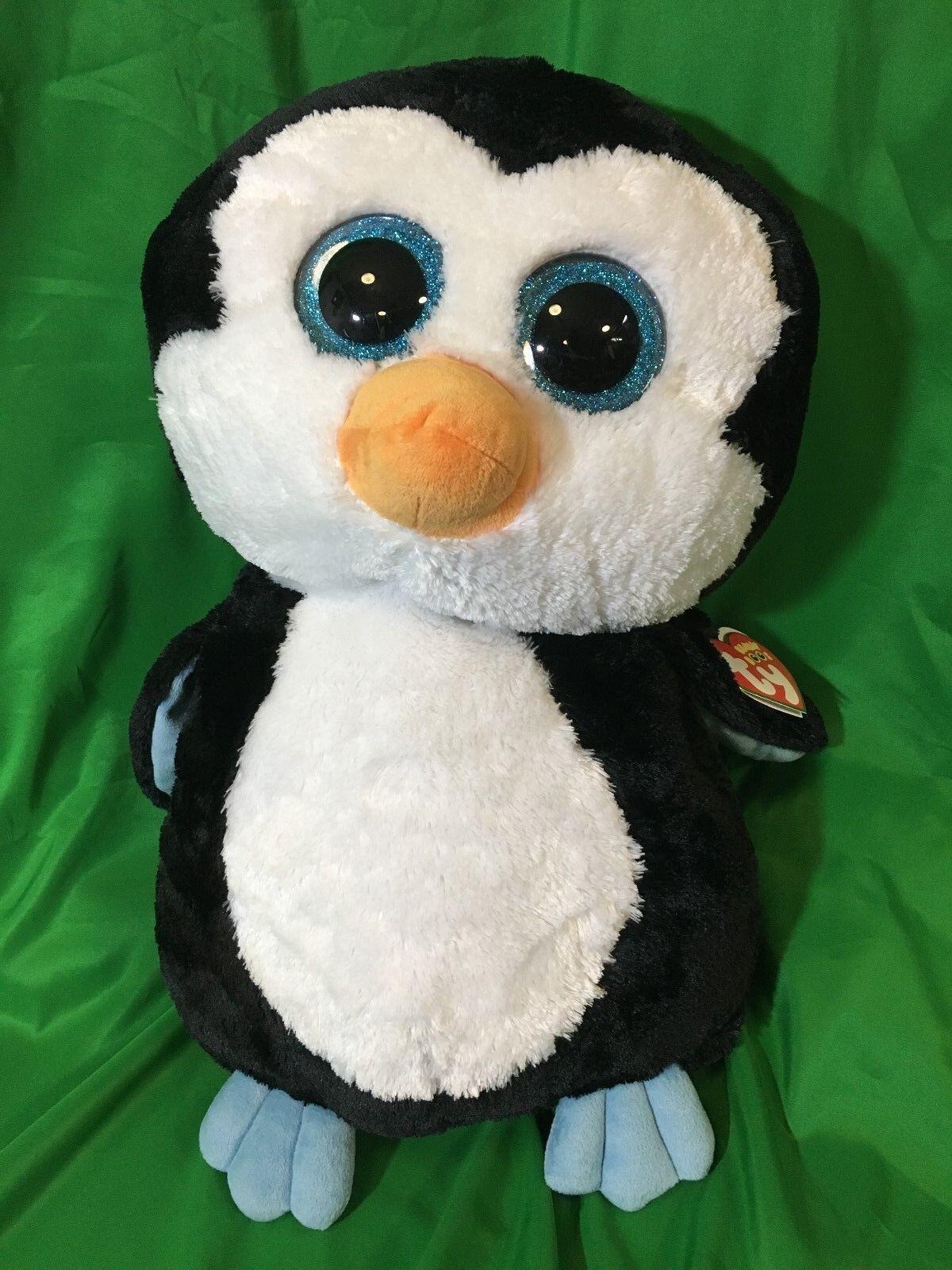 Neue jumbo - 17  ty mütze boos boo tapst pinguin extra große große 11. mai