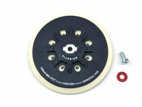 6 Inch Look/&Loop Sanding Discs  M8 Thread Back-up Sanding Pad for FESTOOL