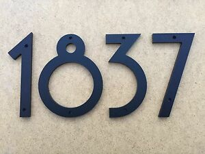 6 inch art deco house numbers letters color choices ebay