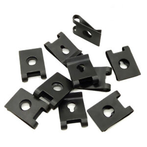 30-x-Metal-Car-Vehicle-Door-Panel-Screw-U-Type-Nut-Fastener-Clips-Auto-Parts
