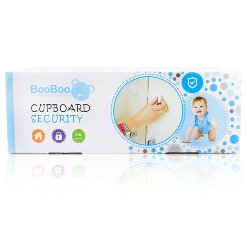6 pack extra Home Child Proofing Booboo Baby Safety Cupboard Door Strap Locks