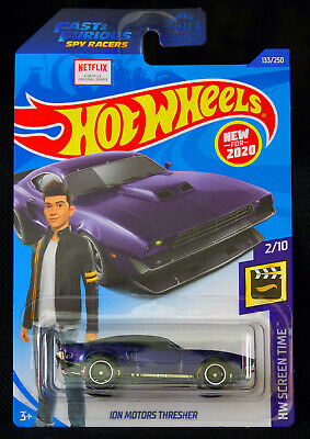 Details about  /2020 Hot Wheels Screen Time Netflix Fast /& Furious ION MOTORS THRESHER Lot of 7