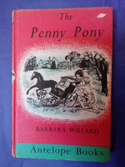 The Penny Pony Barbara Willard 1975 hardback