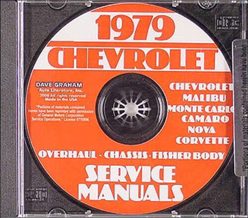 Auto & Motorrad: Teile Automobilia 1979 Chevy Shop Manuell CD Auto ...