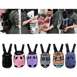 Pet-Carrier-Backpack-Adjustable-Pet-Front-Cat-Dog-Carrier-Travel-Bag-Legs-Out