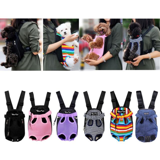 Pawaboo Pet Carrier Backpack Adjustable Front Cat Dog