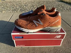 New-Balance-990V4-Running-Shoes-Jupiter-034-Burnt-Orange-034-M990JP4-Men-039-s-FREE-SHIP