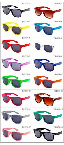 Style Nerd Lunettes rétro Lunettes Lunettes de soleil apprécier Lunettes Style Coloré Couleur