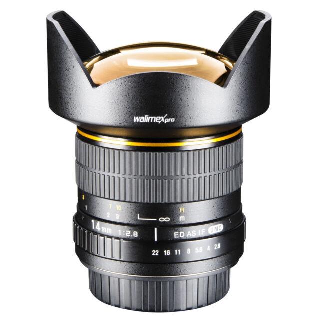 Walimex pro Ae 14mm 2,8 Ed As If Umc para Nikon D700 D750 D800 D810 D800e D300s