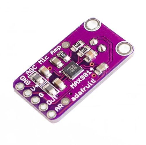 MAX9814 Electret Microphone Amplifier Module AGC Auto Gain Control for Arduino