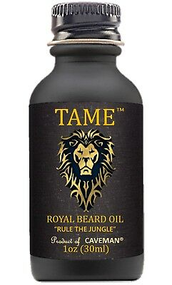 Hand Crafted Caveman™ Premium Classic Beard Oil Choice Materials Hair Care & Styling