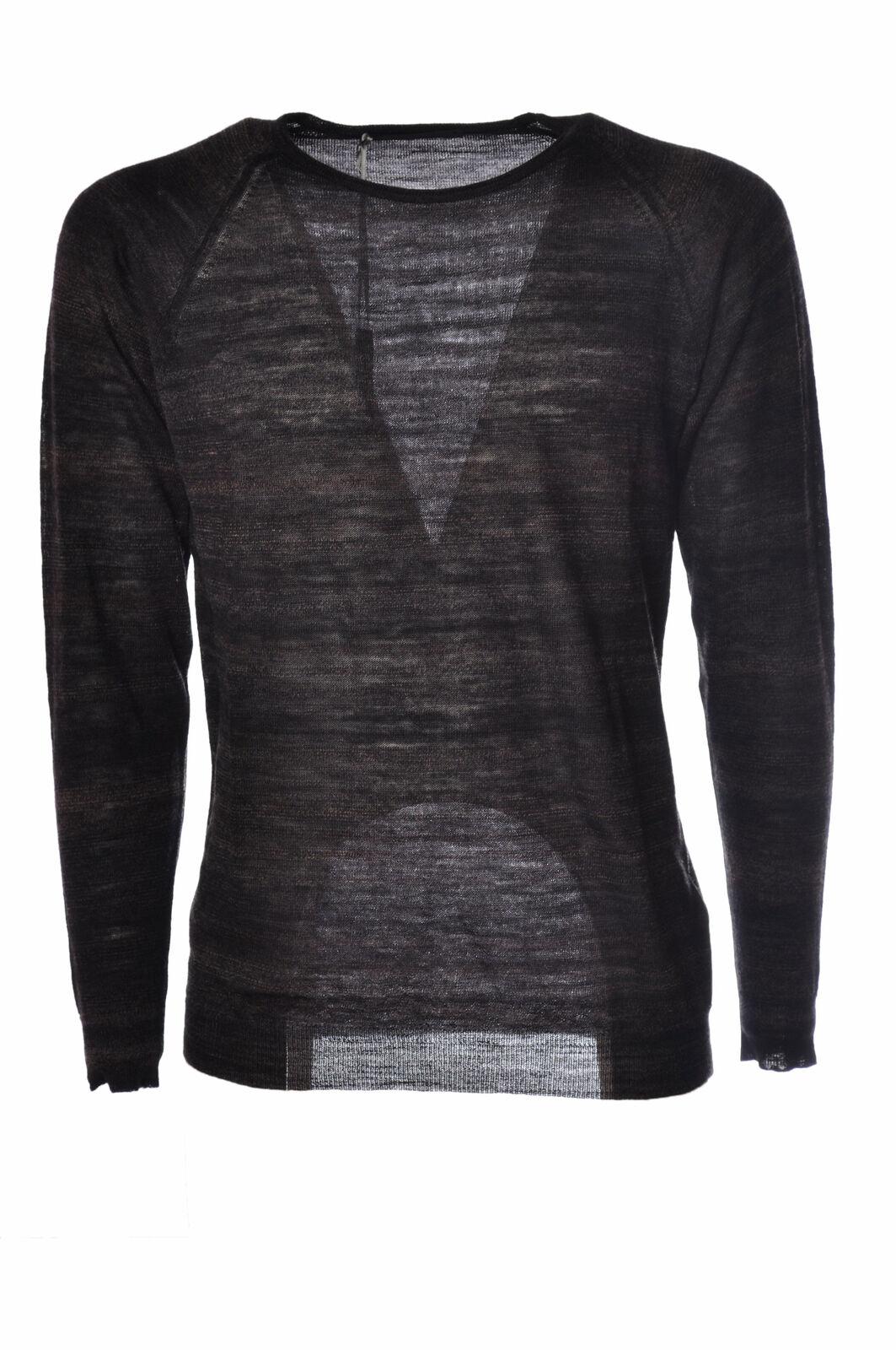 Daniele Alessandrini  -  Sweaters - Male - Brown - 2500026N173910
