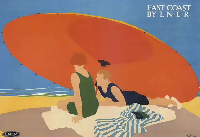 Art Ad East Coast by LNER Travel  Poster Print