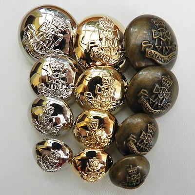 Lanyifang 10pcs Bol/ígrafo de Metal Bol/ígrafos de Bola Mini Bol/ígrafo de Bolsillo Pluma de Aceite Port/átil Acero Inoxidable Plateado