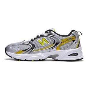 Dardos bota Locomotora  New balance [] 530 Retro Running Zapatos Tenis-Plata/Amarillo (MR530SC) |  eBay