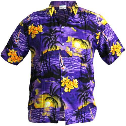 XXXL HAWAIIAN SHIRTS Mens Tropical Stag Beach Aloha Summer Festival Party Large