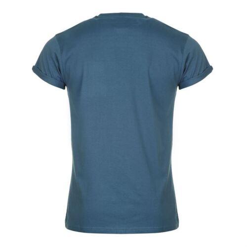 Mens Designer Lee Cooper Crew Casual T-Shirt Size L XL 2XL XXL Big Size SALE !!
