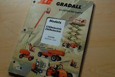 Jlg Gradall 3369 3969 Electric Scissor Lift Spare Parts Manual Catalog List Book
