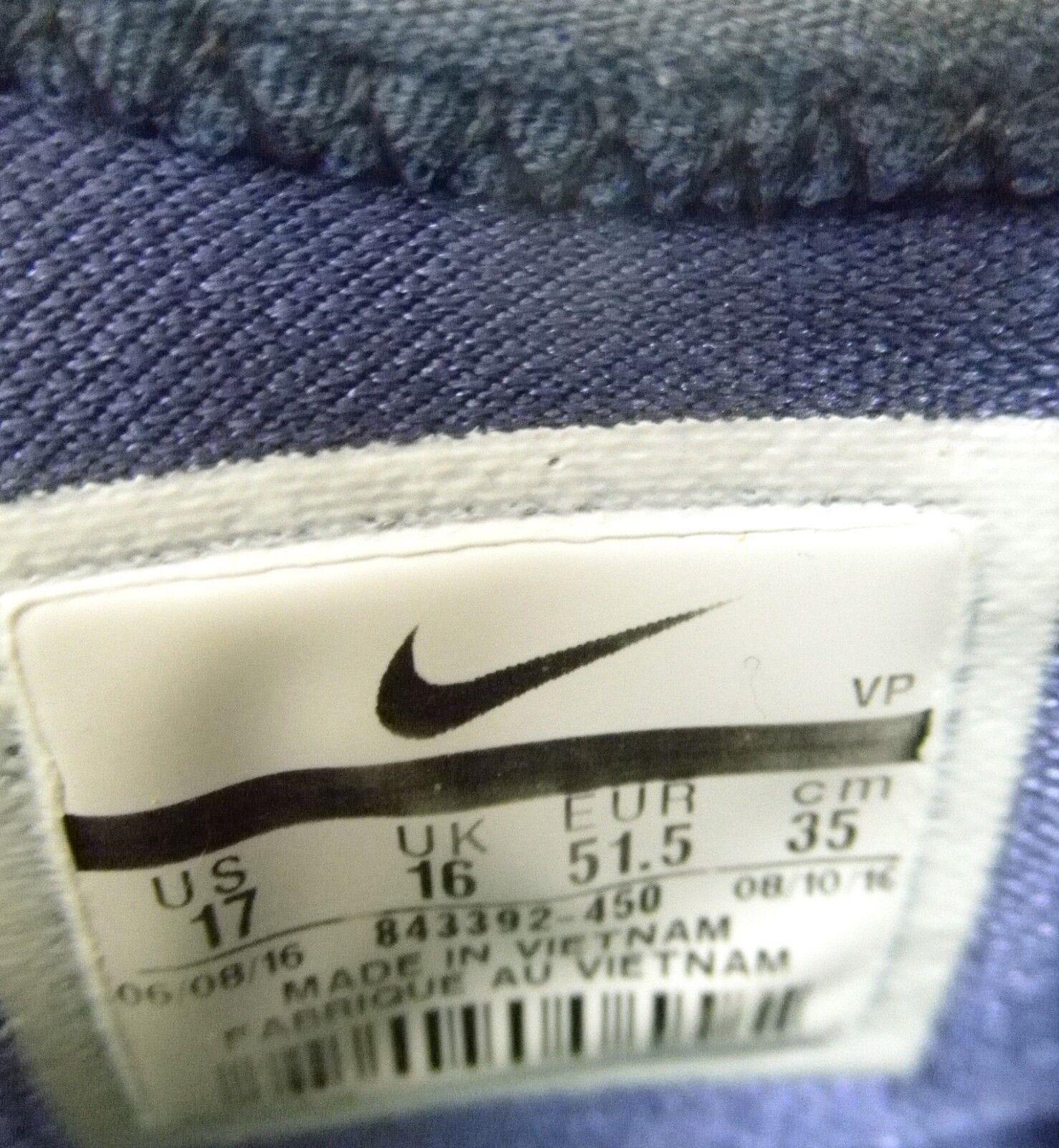 Nike roshe vi tiempo vi roshe o 852707-070 nero / mtlc oro 44 02292e