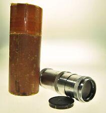 Carl Zeiss Jena Triotar 13.5cm 135mm F4 T Camera Lens - Haze -