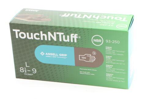 NEU 1 Paket = 100Stück ANSELL AN93250GR9 Handschuhe Touch N Tuff 93-250 Gr9 = L