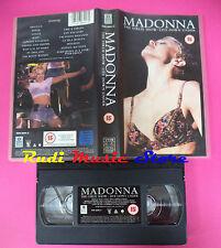 VHS MADONNA The girlie show Live down under 1993 WARNER (VM3*) no mc dvd