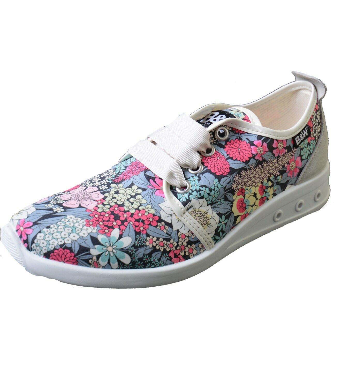 Break & Walk baskets avec motif floral b&w Chaussures