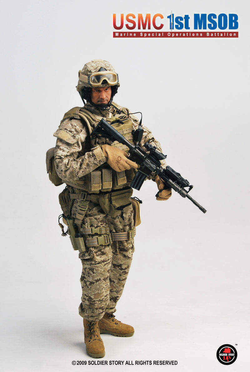 USMC 1st MSOB Marines Special Operations Battalion 1 6th Scale Action Figure