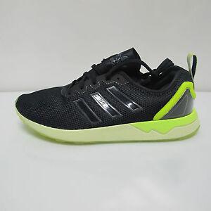4f7f55ee8c86a ADIDAS sport shoes man ZX mod. FLUX ADV AQ4906 black YELLOW summer ...