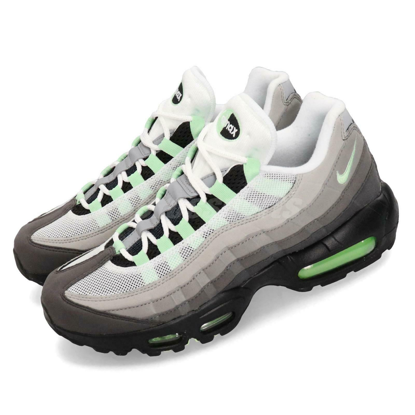 Details about Nike air max 95 premium grey trainers size 12 100% authentic designer sneakers