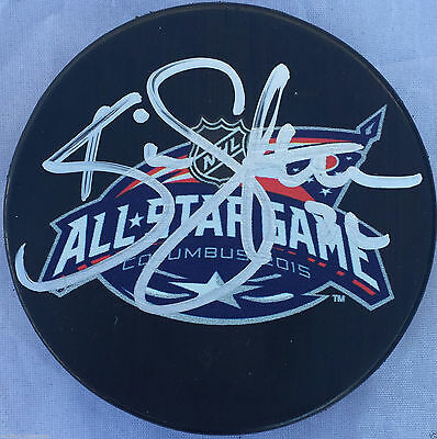 Sports Mem, Cards & Fan Shop New Fashion Kevin Shattenkirk Signed 2015 All Star Game Puck St Louis Blues Team Usa Coa J2 A Plastic Case Is Compartmentalized For Safe Storage Pucks