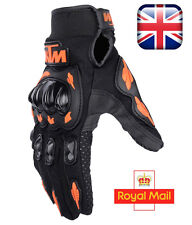 KTM Motorcycle Motocross cycle Enduro Off Road Bike Gloves size L  free P&P
