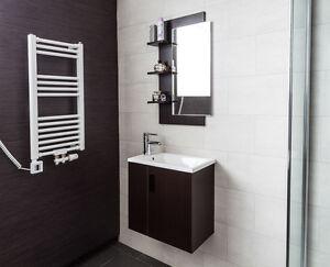 badmöbel gäste wc wenge waschtisch 50cm badezimmermöbel