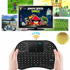 Rii I8 Multifunción 2.4 ghz Rf Portable Mini Teclado Inalámbrico Touchpad Mouse