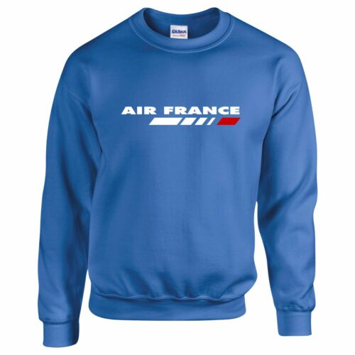 Air France airline sweatshirt Retro airline logo for plane spotters