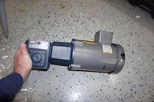Baldor Vm35534 3 Phase Motor With Ironman W8130050 00 Gear Box