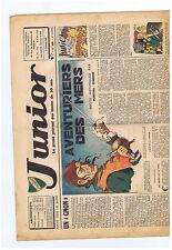 JUNIOR n°261 du 9 octobre 1941. CALVO.