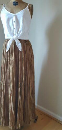 Vintage 1990's Skirt - 70's Tiered Prairie Western