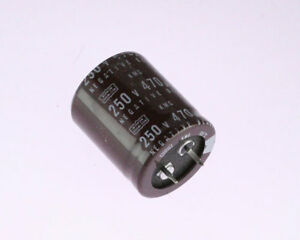 10x 220uF 250V Snap In Mount Electrolytic Capacitor 250 Volts 220mfd 250VDC