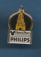 Pin's pin EURO DISNEY PHILIPS LE CHATEAU ROYAL (ref 058)