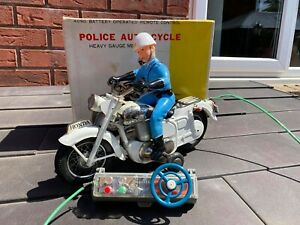 Bandai-Honda-Police-Auto-Cycle-In-Its-Original-Box-Excellent-Rare