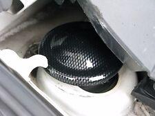 FIAT 500 Abarth in Carbonio ABS sospensione superiore copre COPPIA